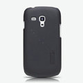 Nillkin Super Matte Hard Cases Skin Covers for Samsung I8190 GALAXY SIII Mini - Black