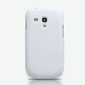 Nillkin Super Matte Hard Cases Skin Covers for Samsung I8190 GALAXY SIII Mini - White