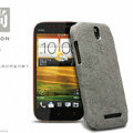 Nillkin leather Cases Holster Covers Skin for HTC T528t One ST - Gray