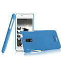 IMAK Cowboy Shell Quicksand Hard Cases Covers for HTC J Z321e - Blue