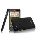 IMAK Cowboy Shell Quicksand Hard Cases Covers for HTC T528d One SC - Black