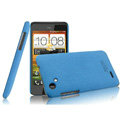 IMAK Cowboy Shell Quicksand Hard Cases Covers for HTC T528d One SC - Blue