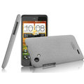 IMAK Cowboy Shell Quicksand Hard Cases Covers for HTC T528d One SC - Gray