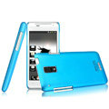 IMAK Ultrathin Matte Color Covers Hard Cases for HTC J Z321e - Blue