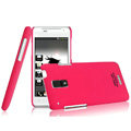 IMAK Ultrathin Matte Color Covers Hard Cases for HTC J Z321e - Rose