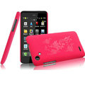 IMAK Ultrathin Rose Color Covers Hard Cases for HTC T528d One SC - Rose