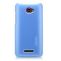 Nillkin Colourful Hard Cases Skin Covers for HTC X920e Droid DNA - Blue