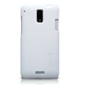 Nillkin Super Matte Hard Cases Skin Covers for HTC J Z321e - White