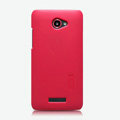 Nillkin Super Matte Hard Cases Skin Covers for HTC X920e Droid DNA - Red