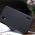 Nillkin Super Matte Hard Cases Skin Covers for LG E960 Nexus 4 - Black
