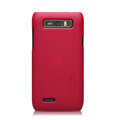 Nillkin Super Matte Hard Cases Skin Covers for Motorola XT788 - Red
