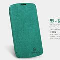 Nillkin leather Cases Holster Covers Skin for LG E960 Nexus 4 - Green