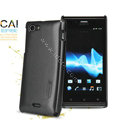 Nillkin Colourful Hard Cases Skin Covers for Sony Ericsson ST26i Xperia J - Black