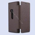 Nillkin England Retro Leather Cases Holster Covers for Nokia Lumia 920 - Brown