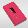 Nillkin England Retro Leather Cases Holster Covers for Nokia Lumia 920 - Red