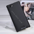 Nillkin Matte Hard Cases Covers for Sony Ericsson ST26i Xperia J - Black