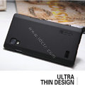 Nillkin Super Matte Hard Cases Covers for LG P765 Optimus L9 - Black
