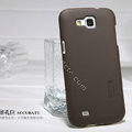 Nillkin Super Matte Hard Cases Covers for Samsung I9260 GALAXY Premier - Brown