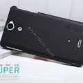 Nillkin Super Matte Hard Cases Covers for Sony Ericsson LT25i Xperia V - Black
