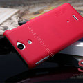 Nillkin Super Matte Hard Cases Covers for Sony Ericsson LT25i Xperia V - Red