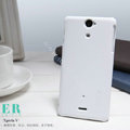 Nillkin Super Matte Hard Cases Covers for Sony Ericsson LT25i Xperia V - White