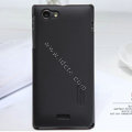 Nillkin Super Matte Hard Cases Covers for Sony Ericsson ST26i Xperia J - Black