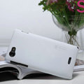 Nillkin Super Matte Hard Cases Covers for Sony Ericsson ST26i Xperia J - White