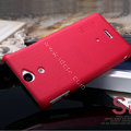 Nillkin Super Matte Hard Cases Skin Covers for OPPO U705T Ulike2 - Red