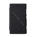 Nillkin leather Cases Holster Covers Skin for Nokia Lumia 920 - Black