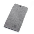 Nillkin leather Cases Holster Covers Skin for Nokia Lumia 920 - Gray
