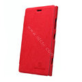 Nillkin leather Cases Holster Covers Skin for Nokia Lumia 920 - Red
