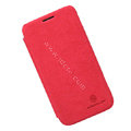 Nillkin leather Cases Holster Covers Skin for Samsung I8750 ATIV S - Red