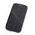 Nillkin leather Cases Holster Covers Skin for Samsung I9260 GALAXY Premier - Black