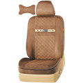 VV camel velvet Custom Auto Car Seat Cover Set - Coffee