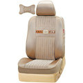 VV stripe taslan Custom Auto Car Seat Cover Set - Beige