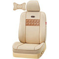 VV vinylon leather Custom Auto Car Seat Cover Set - Beige