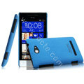 IMAK Cowboy Shell Hard Case Cover for HTC 8S - Blue
