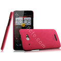 IMAK Cowboy Shell Hard Case Cover for HTC X920e Droid DNA - Rose