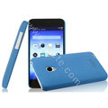 IMAK Cowboy Shell Hard Case Cover for MEIZU MX2 - Blue