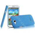 IMAK Cowboy Shell Hard Case Cover for Samsung I9260 GALAXY Premier - Blue