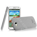 IMAK Cowboy Shell Hard Case Cover for Samsung I9260 GALAXY Premier - Gray