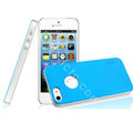 IMAK Matte double Color Cover Hard Case for iPhone 5 - Blue