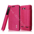 IMAK THE NEIL leather Case support holster Cover for Huawei U8950D C8950D G600 - Rose