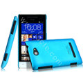 IMAK Ultrathin Matte Color Cover Hard Case for HTC 8S - Blue