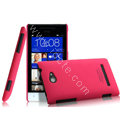 IMAK Ultrathin Matte Color Cover Hard Case for HTC 8S - Rose