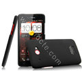 IMAK Ultrathin Matte Color Cover Hard Case for HTC X920e Droid DNA - Black