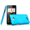 IMAK Ultrathin Matte Color Cover Hard Case for HTC X920e Droid DNA - Blue
