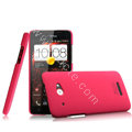 IMAK Ultrathin Matte Color Cover Hard Case for HTC X920e Droid DNA - Rose