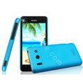 IMAK Ultrathin Matte Color Cover Hard Case for Huawei T8951 G510 - Blue