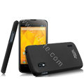 IMAK Ultrathin Matte Color Cover Hard Case for LG E960 Nexus 4 - Black